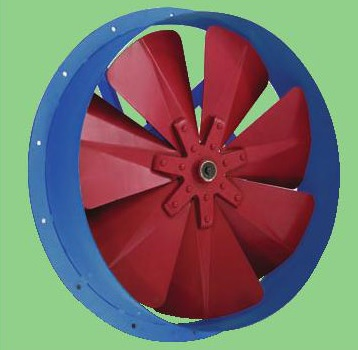 BA 7 – ventilator axial industrial cu 7 lame