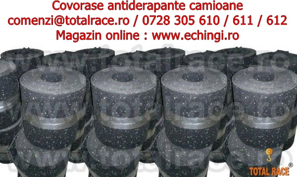 Covorase antialunecare Total Race