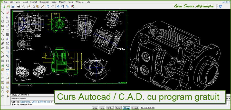 Curs Autocad Alternativ