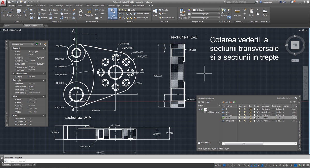 Curs Autocad 2017 Workshop