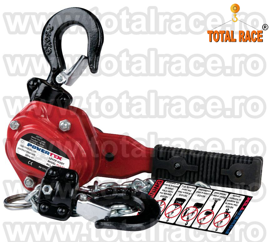 Palan manual cu levier Total Race