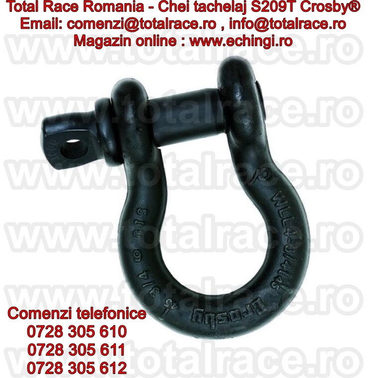 Gambeti / shackles omega cu bolt filetat S209T Crosby