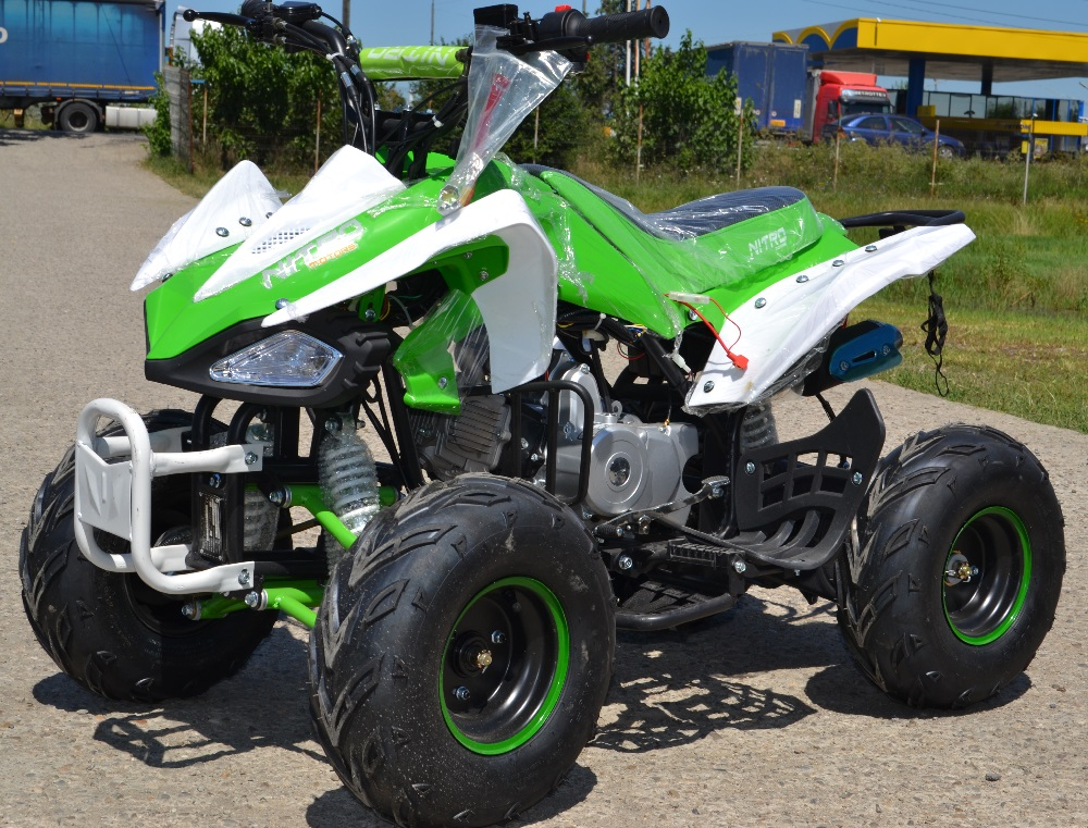 ATV 125cc NITRO SPEEDY Nou, Casca Bonus, Import Germania