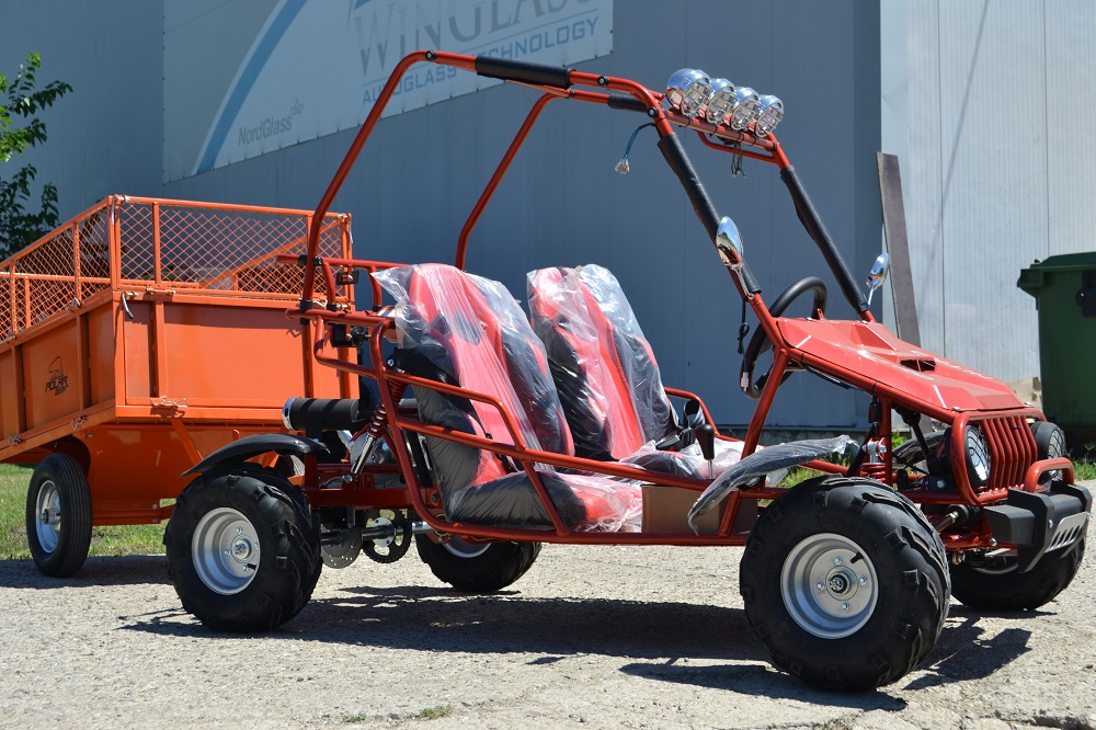 ATV Nitro 125cc Buggy – 2 Locuri, Import Germania