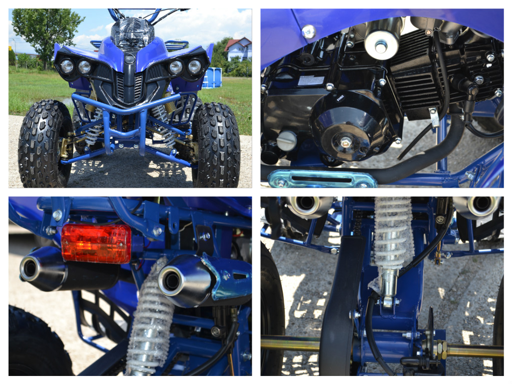 ATV 125cc NITRO Warrior Semiautomatik, Import Germania