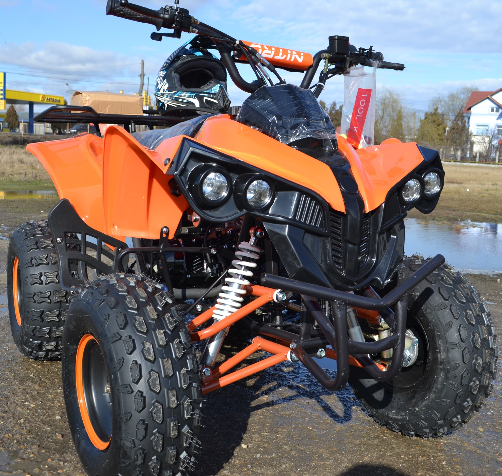 ATV 125cc Nitro Warrior 3G8 NOU import Germania