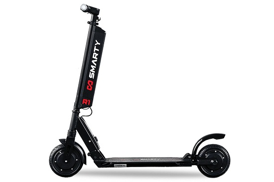 350W 36V Eco Scooter Smarty R1 8 inch Nou 2018