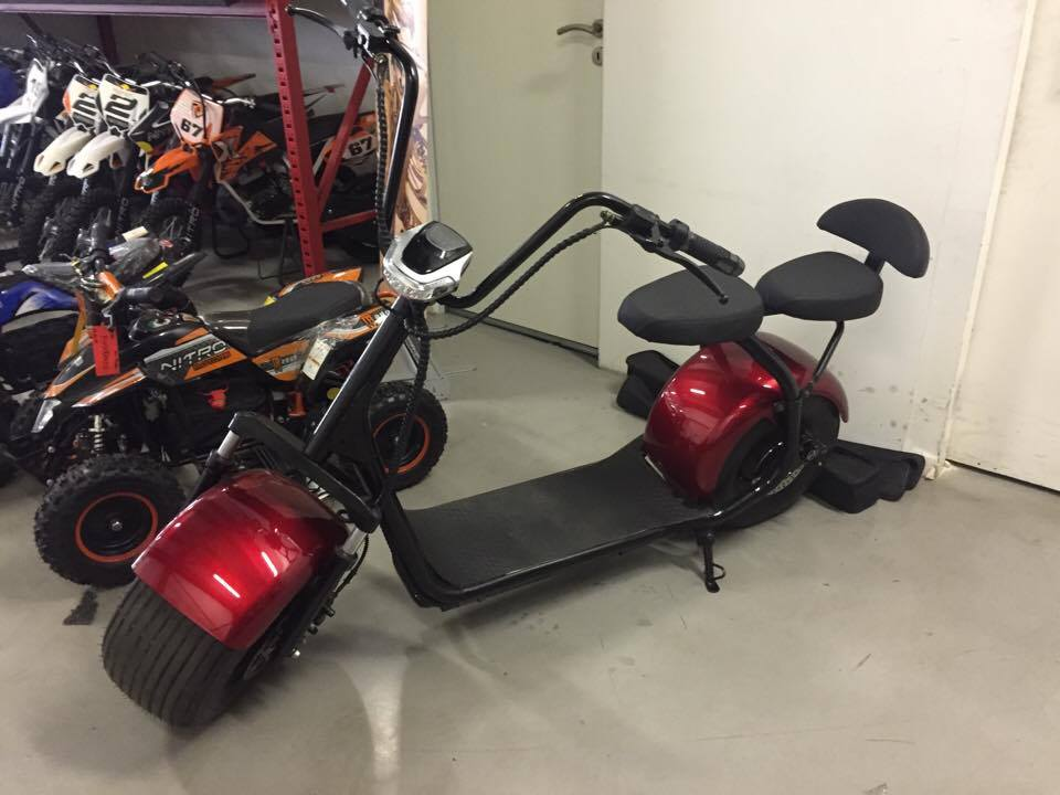 Big Wheel Citycoco 9.5inch (Harley electric scooter) Nou 2018