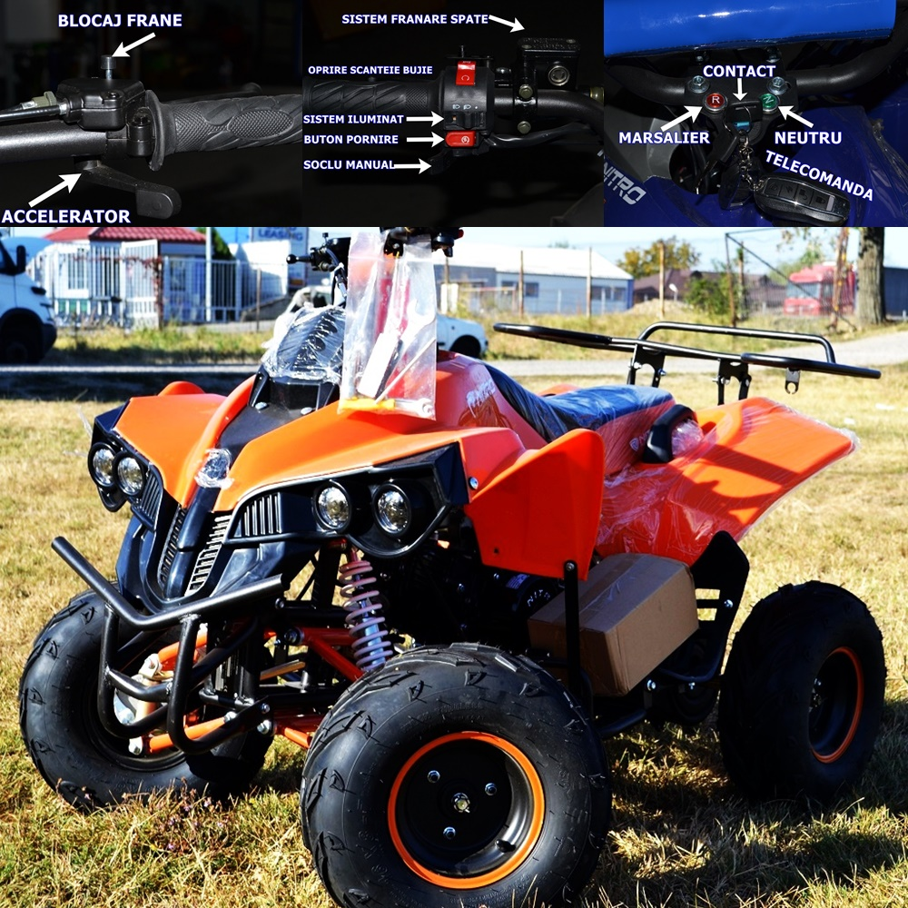 ATV NITRO WARRIOR RS 125 cc NEW 2018 !!!!