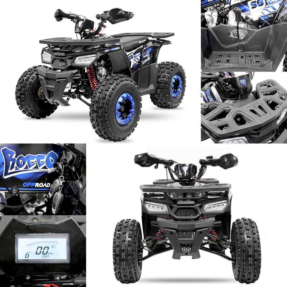 Atv Nitro Roco Turbo Sport New-Edition RS8