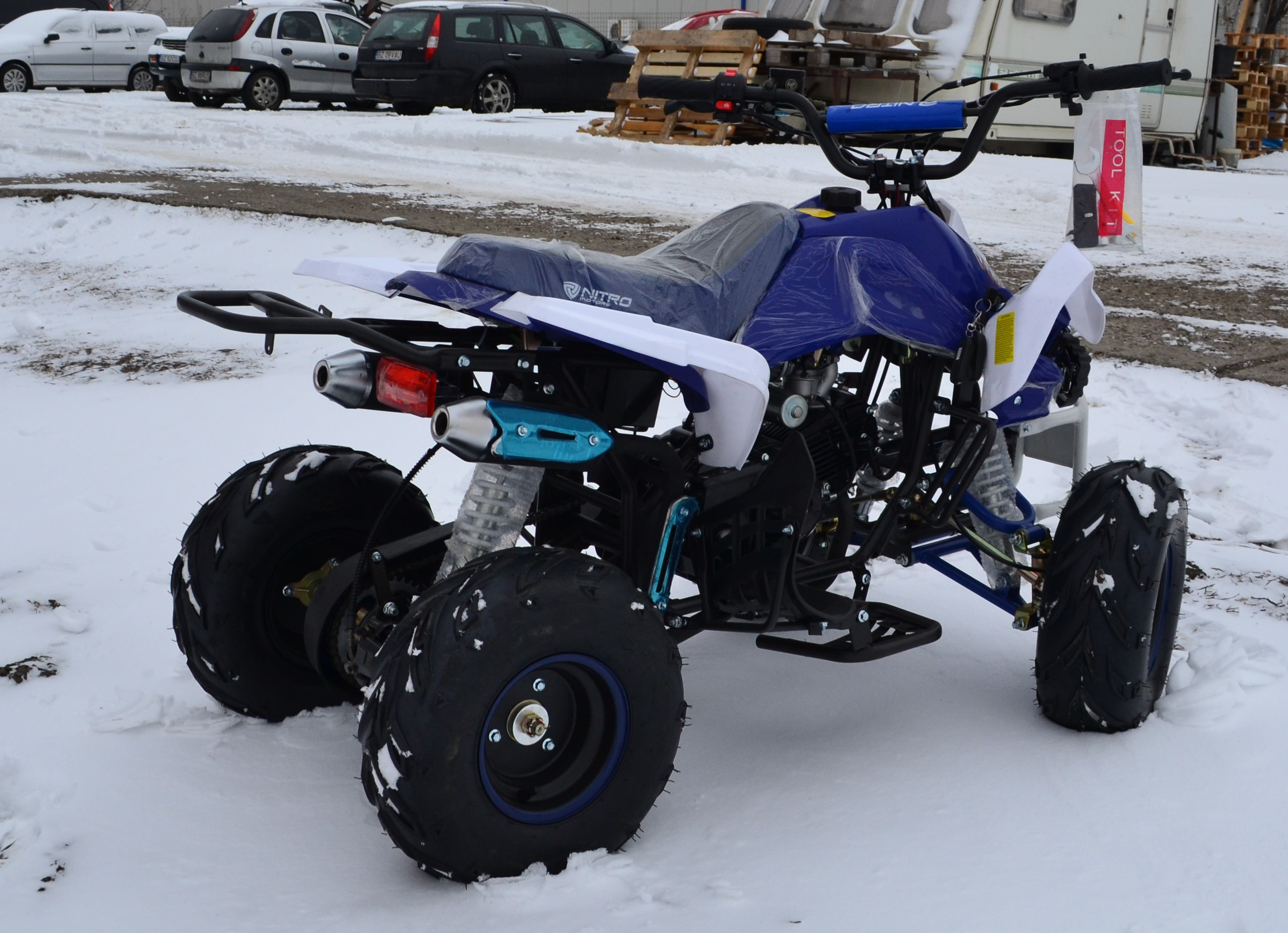 ATV Urban Speedy 125cc Import Germania Casca Cadou 2019